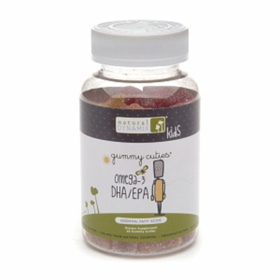 Natural Dynamix Gummy Cuties Omega-3 DHA/EPA