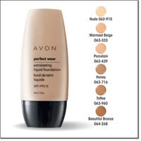 Perfect Wear Extralasting Liquid Foundation SPF 15 Toffee By Avon