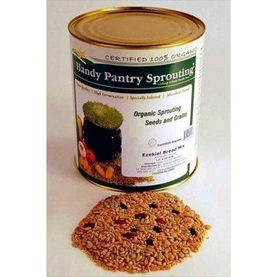 Handy Pantry Organic Ezekiel Grain Mix - Make Ezekiel Bread / Flour - Multi Whole Grain 5 Lbs