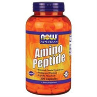 Amino Peptide 400 mg, 300 Capsules, NOW Foods