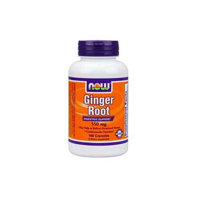 NOW Foods Ginger Root 550 mg Caps
