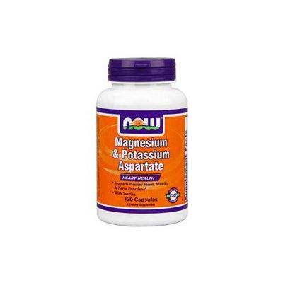 NOW Foods Magnesium & Potassium Aspartate Caps