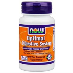 NOW Foods Optimal Digestive System, Vegetarian Capsules, 90 ea
