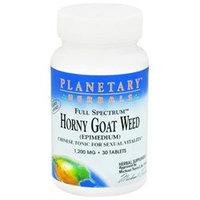 Planetary Formulations F/Spectrum Horny Goat Weed 1000 MG - 30 Tablets - Male Intimacy Herbs
