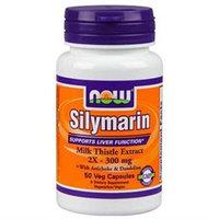 NOW Foods - Silymarin 2X 300 mg. - 50 Vegetarian Capsules