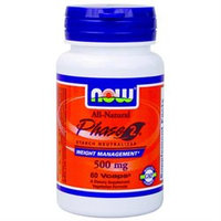 NOW Foods - Phase 2 500 mg. - 60 Vegetarian Capsules White Kidney Bean Extract