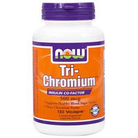 NOW Foods Tri-Chromium 500 mcg w Cinn VCaps