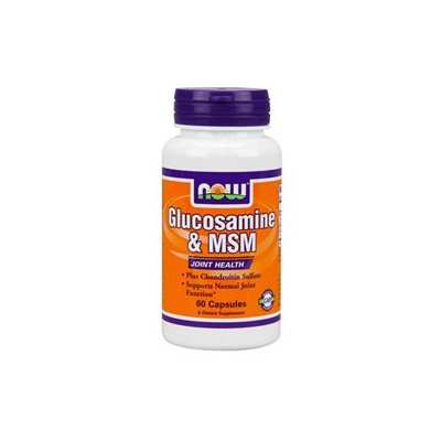 NOW Foods - Glucosamine and MSM 750/250 mg - 60 Capsules