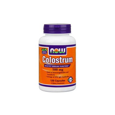 NOW Foods - Colostrum 500 mg. - 120 Capsules