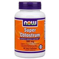 NOW Foods Super Colostrum, 500mg, Vegetarian Capsules, 90 ea