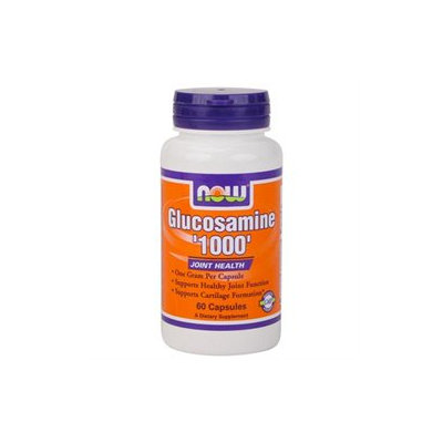 NOW Foods - Glucosamine 1000 mg. - 60 Capsules