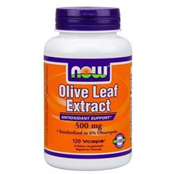 NOW Foods Olive Leaf Extract 500 mg VCaps