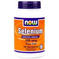 NOW Foods - Selenium 200 mcg. - 180 Vegetarian Capsules
