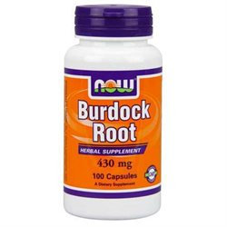 NOW Foods - Burdock Root 430 mg. - 100 Capsules