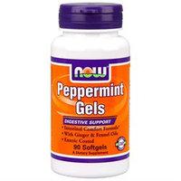 NOW Foods Peppermint Gels, Softgels, 90 ea