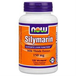 NOW Foods Silymarin Milk Thistle 150 mg VCaps
