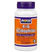 NOW Foods Acidophilus 4 by 6 Billion Caps
