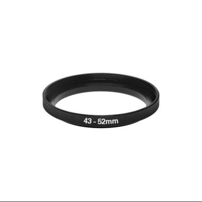 Bower 43-52mm Step-Up Adapter Ring