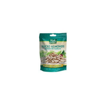 Fresh Gourmet Roasted Garlic Sliced Almonds for Salads - 9 Pack