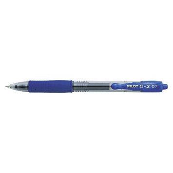 Pilot G-2 Refillable Gel Ink Pen, 0.7mm Fine - Blue Ink (12 Per Pack)