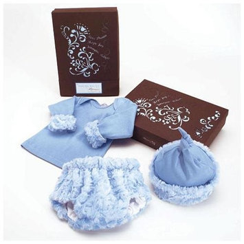 Bloomers Baby Boys 'The Birth Day Box' Gift Set - Blue (0-3 Months)
