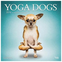 Yoga Dogs Wall Calendar by BrownTrout