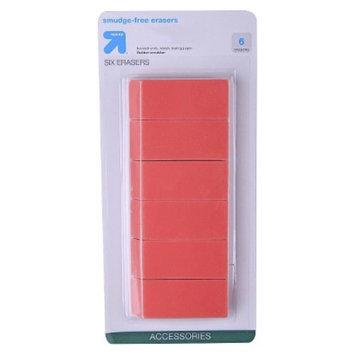 up & up - 6ct Smudge Free Eraser