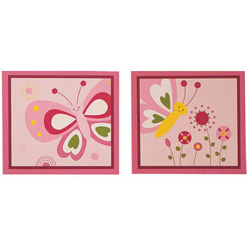Bedtime Originals by Lambs & Ivy - Wall Decor, Pink Butterfly