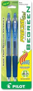 Pilot Precise Pilot Gel-Ink Pens Precise Gel Pen, Retractable, Fine Point, Blue