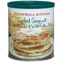 Stonewall Kitchen Toasted Coconut Pancake & Waffle Mix, 16-Ounce Cans (Pack of 3)