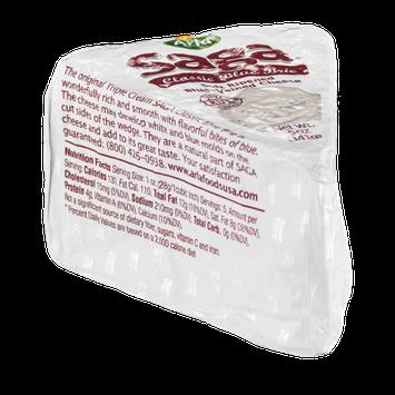 Saga Classic Blue Brie Cheese