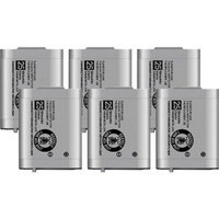 Battery for Panasonic BTS P103- 6 Pack Replacement Battery