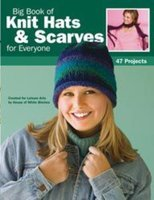 Leisure Arts-Big Book Of Knit Hats & Scarves For Ever