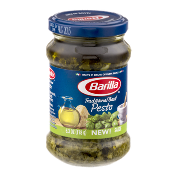 Barilla Pasta Sauce Traditional Basil Pesto