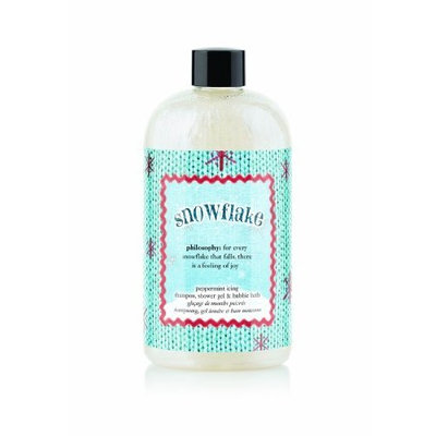 Philosophy, Inc, us beauty, PHIGH Philosophy Snowflake Shower Gel, 16 Ounces