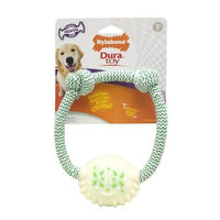 Nylabone Dura Toy Dental Rope Ring Dog Chew Toy