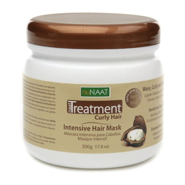 nuNAAT naat Treatment Curly Hair Intensive Hair Mask