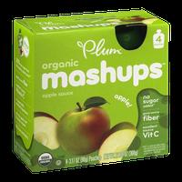 Plum Organic Mashups Apple Sauce Apple - 4 CT