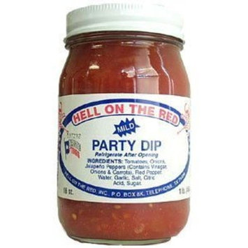 Hell on the Red Mild Party Dip (6 Pack)