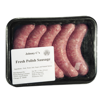 Johnny C's Fresh Polish Sausage