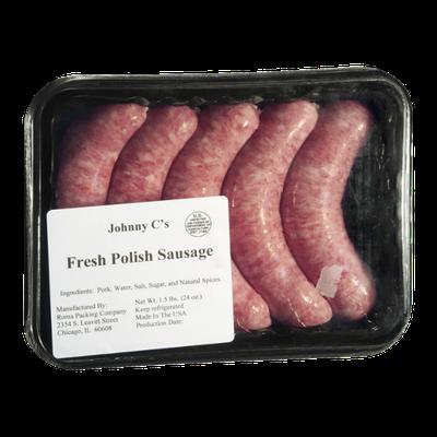 Johnny C's Fresh Polish Sausage