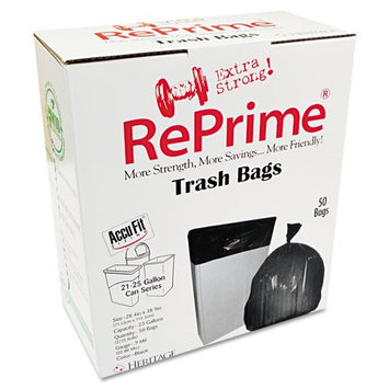 Reprime Clear Can Liners, 23 gal, 50 ct