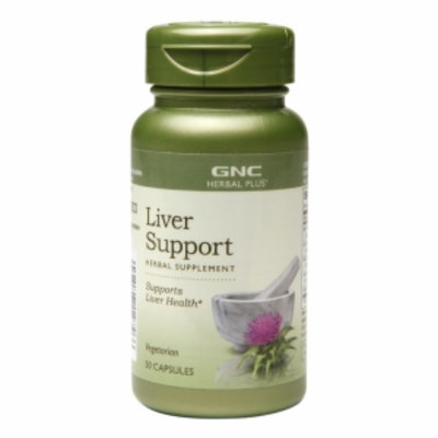GNC Herbal Plus Liver Support, Capsules, 50 ea