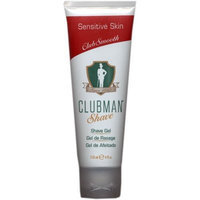 Clubman Shave Gel for Sensitive Skin, 4 oz