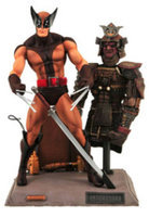 Diamond Comics Marvel Select Brown Wolverine Action Figure
