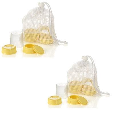 Medela Breastmilk Bottle Spare Parts Pack of 2