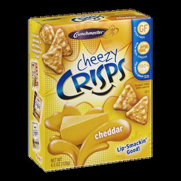 Crunchmaster Cheezy Crisps Cheddar