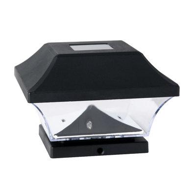 Shenzhen Jiawei Industries Co., Ltd Basic Solar Post Caps, Set of 4, Black