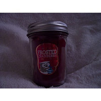 Bath & Body Works Bath and Body Works Home Fragrance Candle 6 Oz Mason Jar Frosted Cranberry