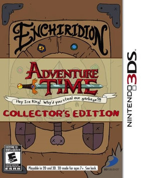 D3 Publisher Adventure Time: Hey Ice King 3DS 36908